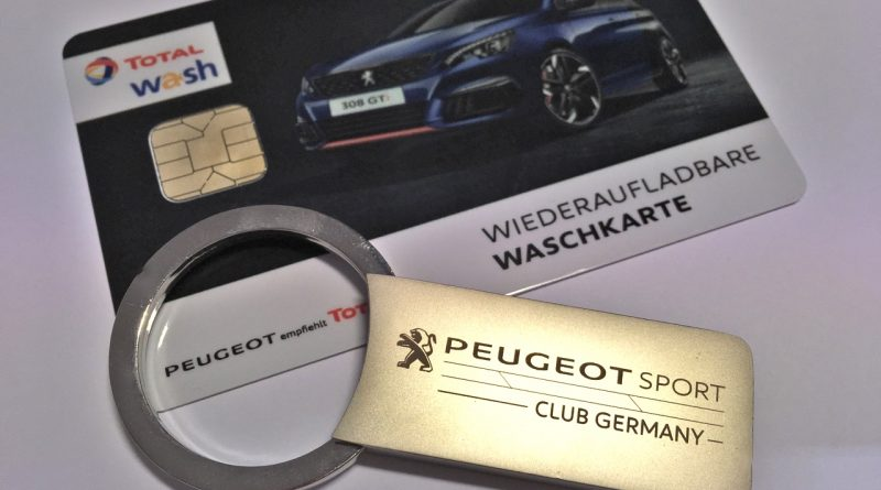 PEUGEOT Sport Club Germany Schlüsselanhänger